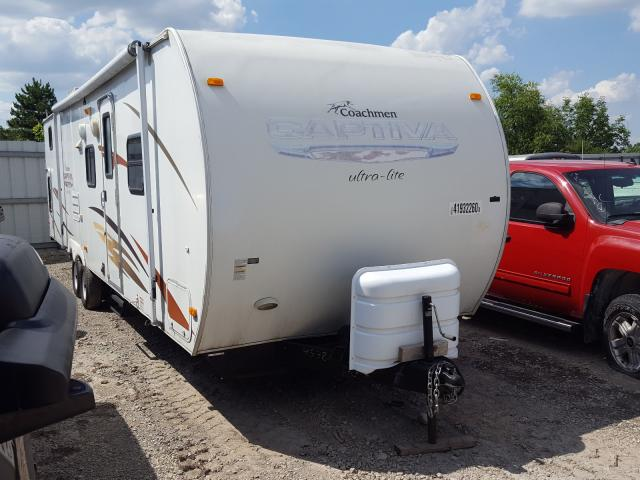 Coachmen salvage cars for sale: 2008 Coachmen Trailer