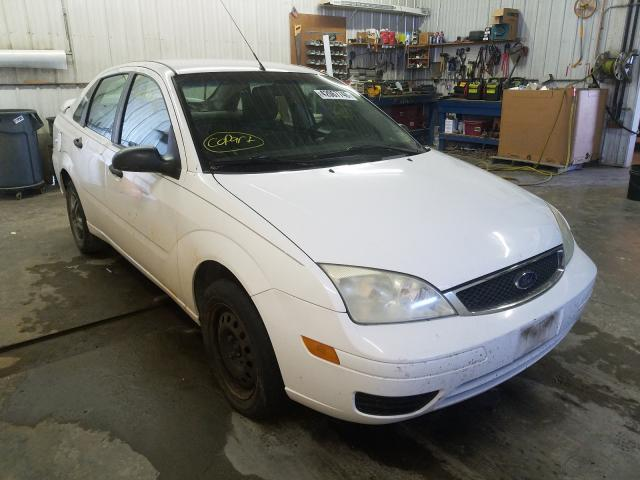 Salvage cars for sale from Copart Avon, MN: 2007 Ford Focus ZX4