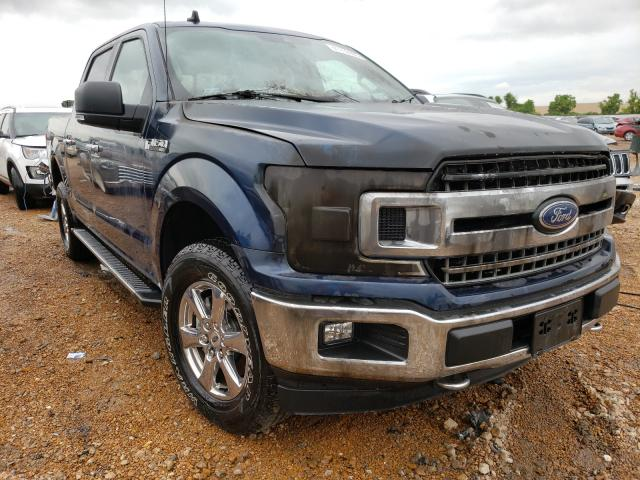 Salvage cars for sale from Copart Bridgeton, MO: 2019 Ford F150 Super