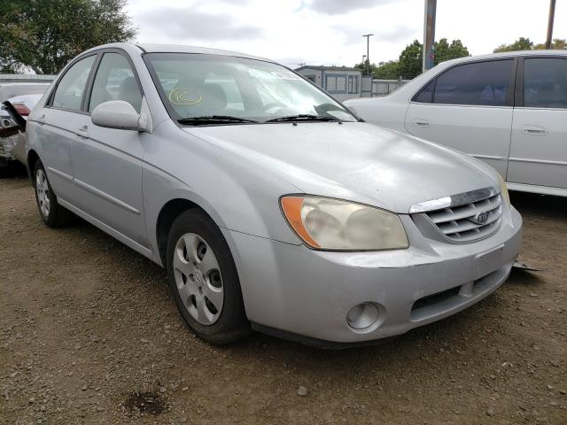 KIA Spectra LX salvage cars for sale: 2006 KIA Spectra LX