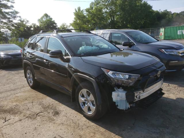Toyota salvage cars for sale: 2020 Toyota Rav4 XLE