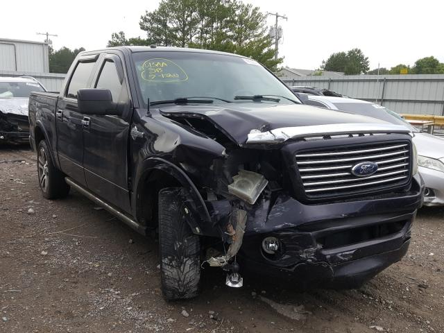 Salvage cars for sale from Copart Florence, MS: 2007 Ford F150 Super