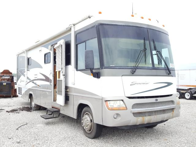 Workhorse Custom Chassis Motorhome salvage cars for sale: 2005 Workhorse Custom Chassis Motorhome