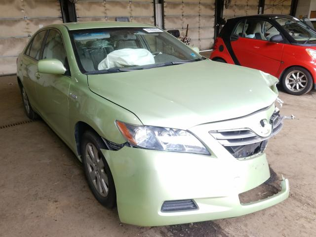 Salvage cars for sale from Copart Graham, WA: 2007 Toyota Camry Hybrid