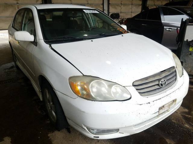 Toyota Corolla salvage cars for sale: 2004 Toyota Corolla
