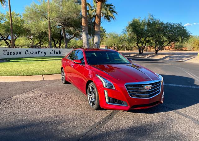Cadillac salvage cars for sale: 2017 Cadillac CTS Vsport
