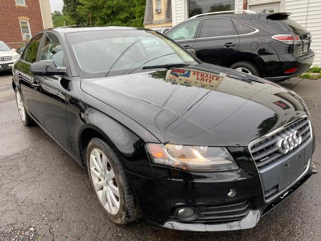 Audi A4 Premium salvage cars for sale: 2012 Audi A4 Premium