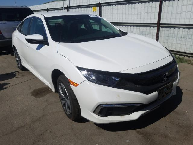 Salvage cars for sale from Copart Bakersfield, CA: 2020 Honda Civic LX