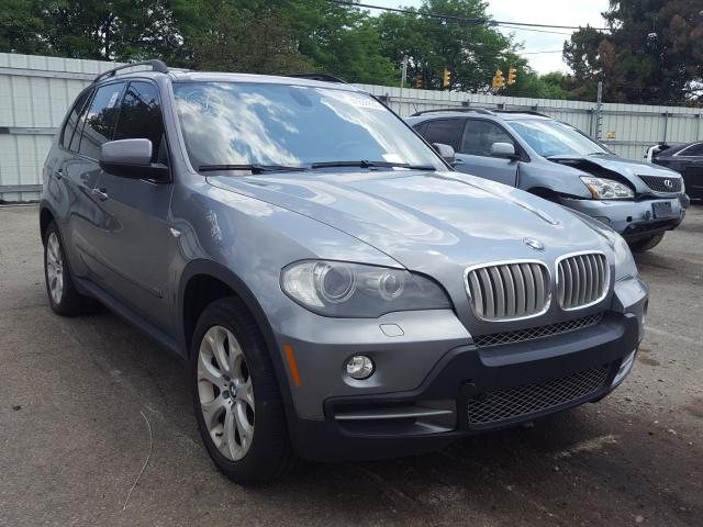 Salvage cars for sale from Copart Moraine, OH: 2008 BMW X5 4.8I
