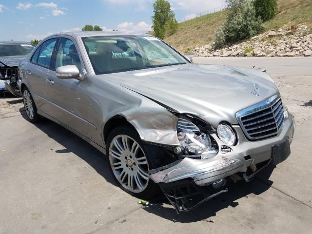 Mercedes-Benz E 350 4matic salvage cars for sale: 2008 Mercedes-Benz E 350 4matic