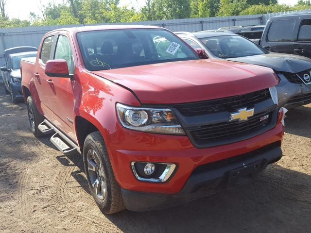 Chevrolet salvage cars for sale: 2016 Chevrolet Colorado Z