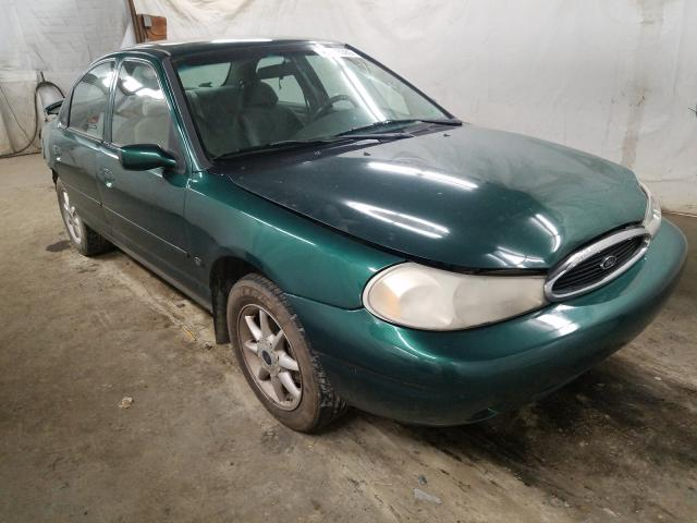 Salvage cars for sale from Copart Ebensburg, PA: 2000 Ford Contour SE