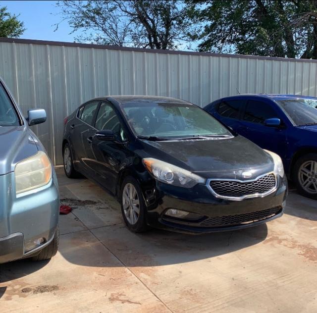 Salvage cars for sale from Copart Oklahoma City, OK: 2014 KIA Forte EX