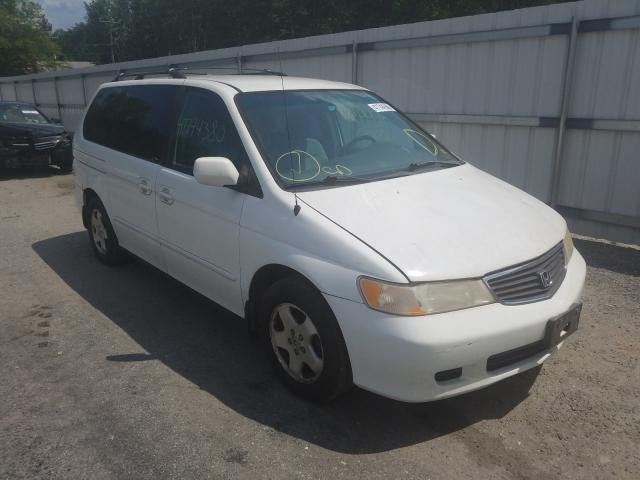 Salvage cars for sale from Copart Fredericksburg, VA: 2000 Honda Odyssey EX
