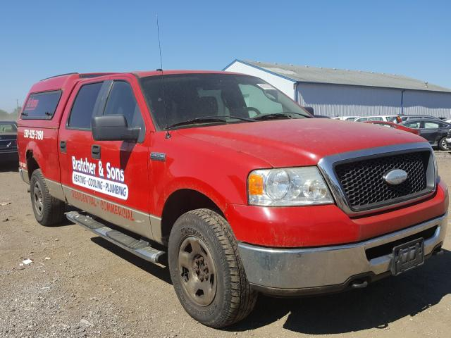 Salvage cars for sale from Copart Columbia Station, OH: 2007 Ford F150 Super