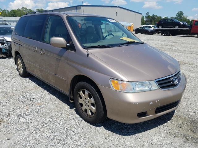 Salvage cars for sale from Copart Spartanburg, SC: 2003 Honda Odyssey EX