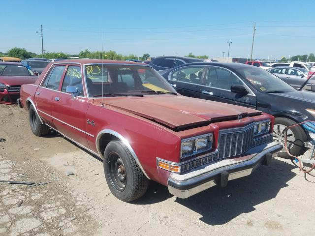 Plymouth salvage cars for sale: 1987 Plymouth Gran Fury