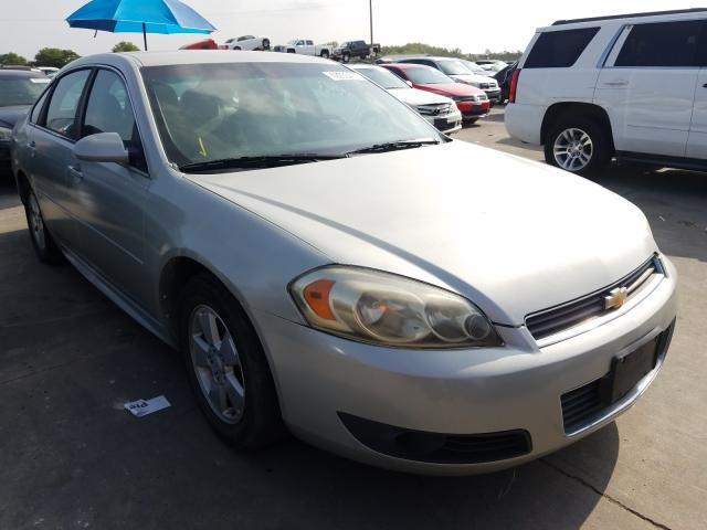 Chevrolet salvage cars for sale: 2011 Chevrolet Impala LT