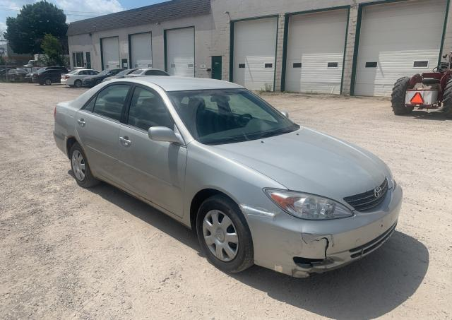 Salvage cars for sale from Copart London, ON: 2002 Toyota Camry LE