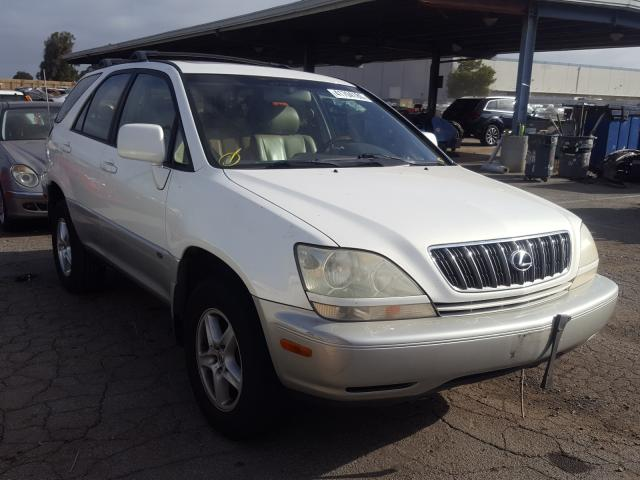 Salvage cars for sale from Copart Hayward, CA: 2002 Lexus RX 300