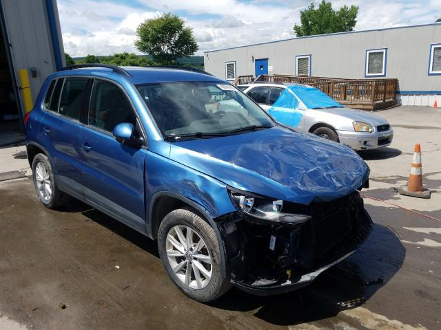 Salvage cars for sale from Copart Duryea, PA: 2018 Volkswagen Tiguan LIM