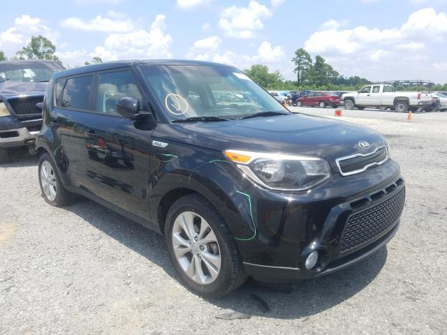 KIA salvage cars for sale: 2016 KIA Soul +