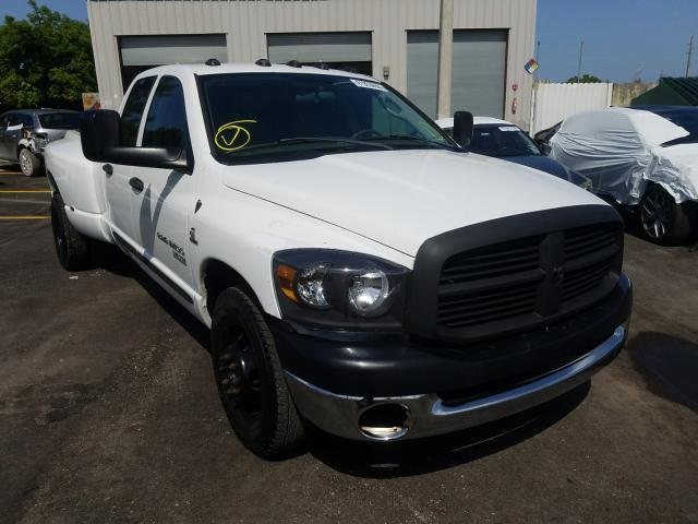 Dodge salvage cars for sale: 2006 Dodge RAM 3500 S
