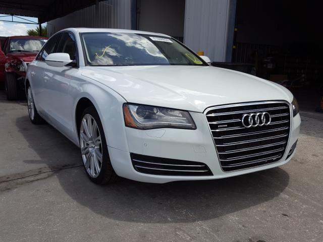Audi salvage cars for sale: 2014 Audi A8 Quattro