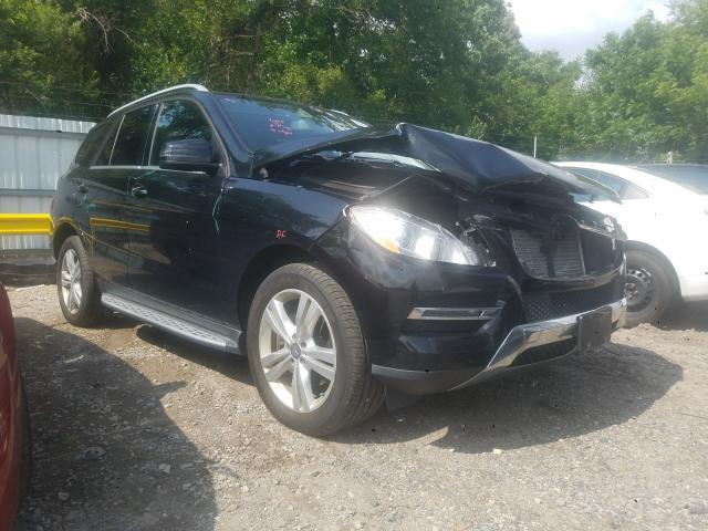 Salvage 2015 Mercedes-Benz ML 250 BLU for sale