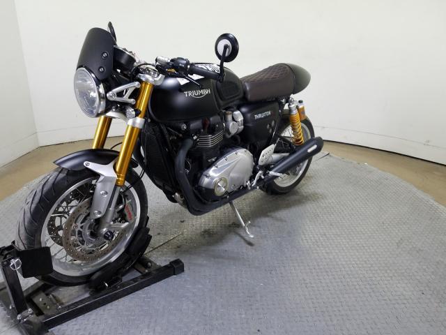 цена в сша 2016 TRIUMPH MOTORCYCLE THRUXTON 1200 R SMTD21HF7GT780941