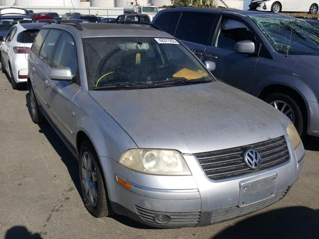 Salvage cars for sale from Copart Martinez, CA: 2002 Volkswagen Passat GLX