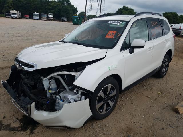 из сша 2018 Subaru Forester 2 2.5L JF2SJARCXJH525614