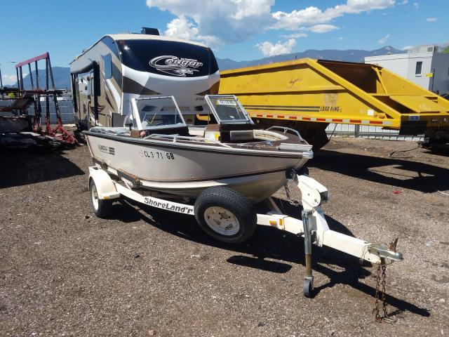 Vehiculos salvage en venta de Copart Colorado Springs, CO: 1986 Alumacraft Supreme 16