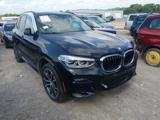 Salvage cars for sale from Copart Oklahoma City, OK: 2020 BMW X3 XDRIVE3