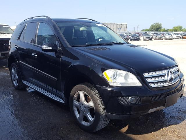 Salvage cars for sale from Copart Mercedes, TX: 2008 Mercedes-Benz ML 350
