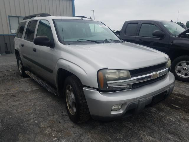 Salvage cars for sale from Copart Chambersburg, PA: 2005 Chevrolet Trailblazer