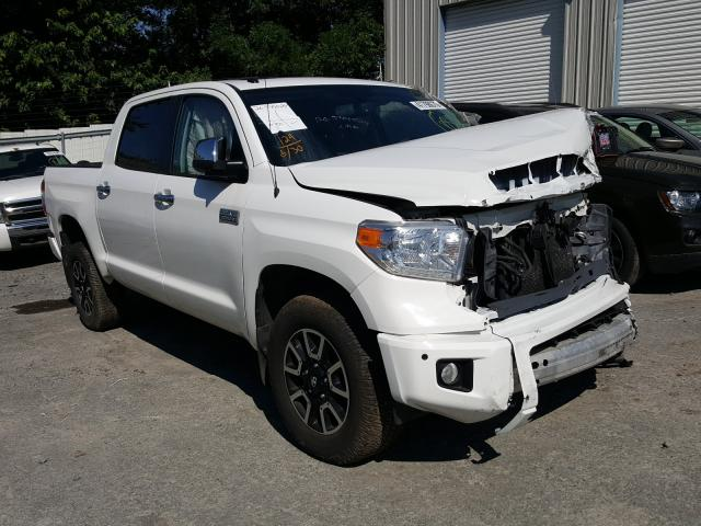 Toyota Tundra CRE salvage cars for sale: 2015 Toyota Tundra CRE