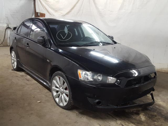 Salvage cars for sale from Copart Ebensburg, PA: 2009 Mitsubishi Lancer GTS