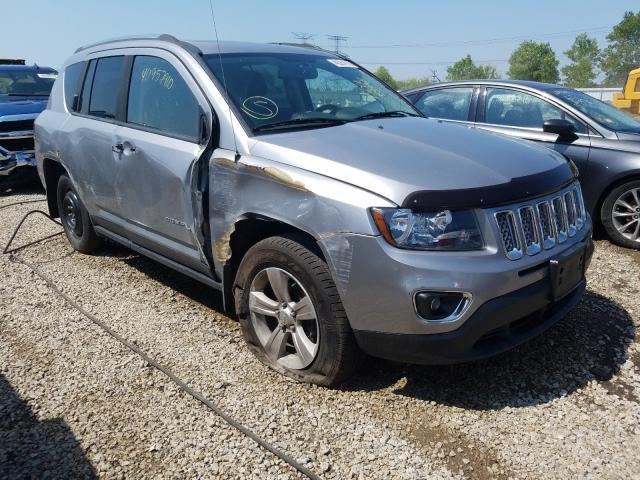 Jeep Compass LA salvage cars for sale: 2015 Jeep Compass LA