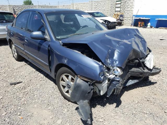 KIA Spectra BA salvage cars for sale: 2002 KIA Spectra BA