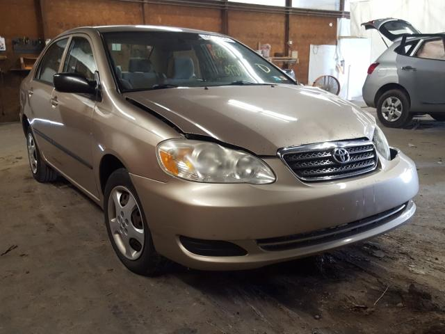 Salvage cars for sale from Copart Ebensburg, PA: 2005 Toyota Corolla CE