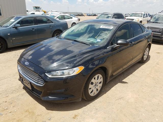 из сша 2013 FORD FUSION S 3FA6P0G73DR360612