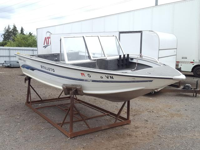 Salvage 1995 Smokercraft BOAT for sale