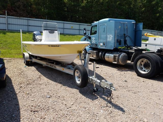 Blue Wave salvage cars for sale: 2017 Blue Wave Boat