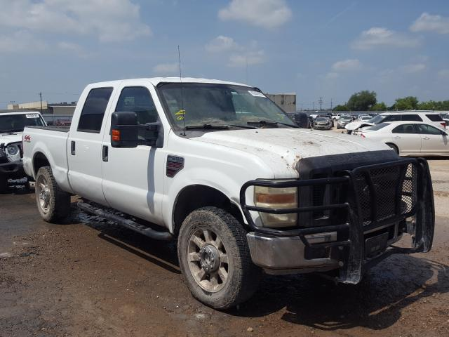 Salvage cars for sale from Copart Mercedes, TX: 2008 Ford F250 Super