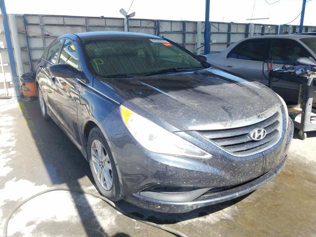 Salvage cars for sale from Copart Anthony, TX: 2014 Hyundai Sonata GLS