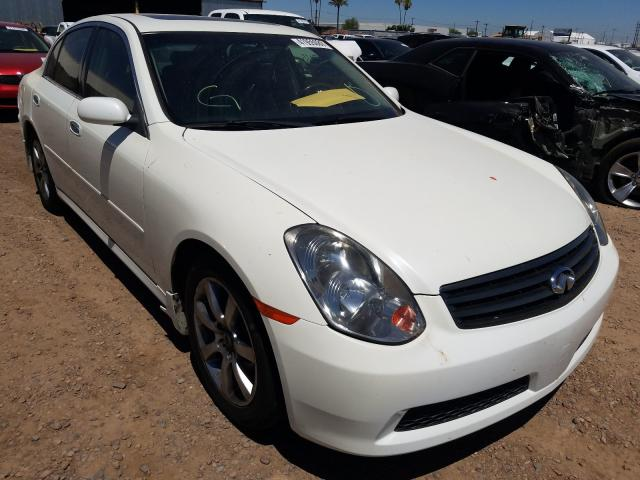 Infiniti G35 salvage cars for sale: 2006 Infiniti G35