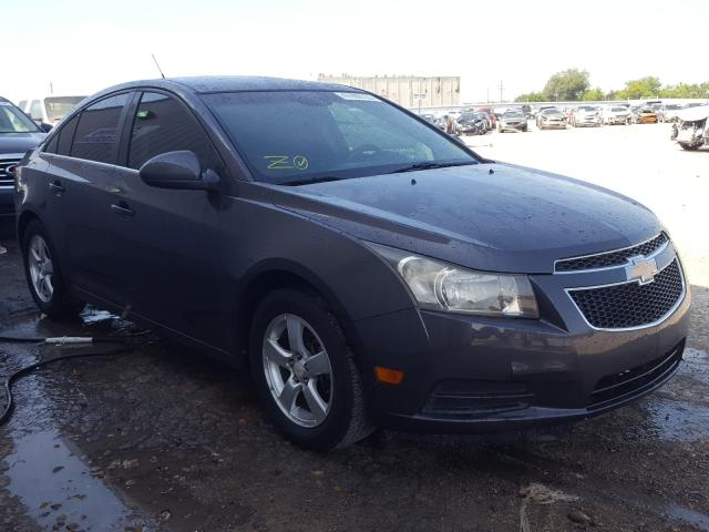 Salvage cars for sale from Copart Mercedes, TX: 2011 Chevrolet Cruze LT