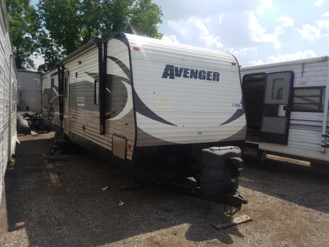 Avenger salvage cars for sale: 2015 Avenger Travel Trailer