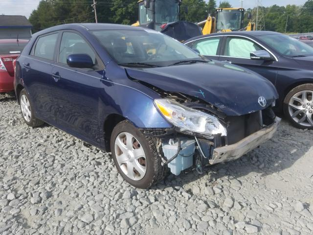 Toyota salvage cars for sale: 2009 Toyota Corolla MA